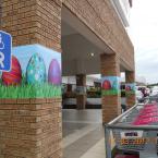 Easter Decor at Beacon Bay Retail Park