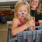 Bunny Face Painting at Beacon Bay Retail Park
