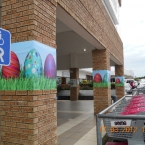 Easter Decor at Beacon Bay Retail Park
