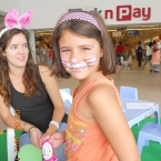 Bunny Face Painting at Beacon Bay Retail Park