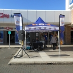 Wild Coast FM live broadcast from Beacon Bay Retail Park