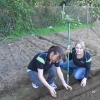 Gardening at Cotlands in Mzamomhle in celebration of Nelson Mandela Day