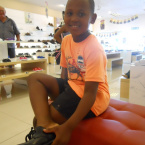 Owethu Sogcayi Back to school competition with Bata