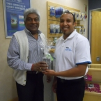 LOGAN NAIDOO: Father's Day Blackberry winner
